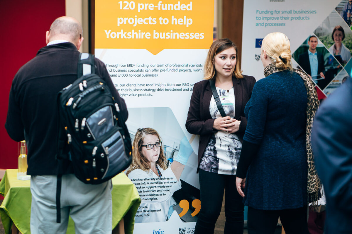 Regional support organisations at BioVale event